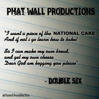 Double Six National Cake