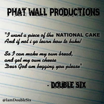 Double Six National Cake