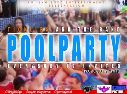 King TickLips Pool Party Myire