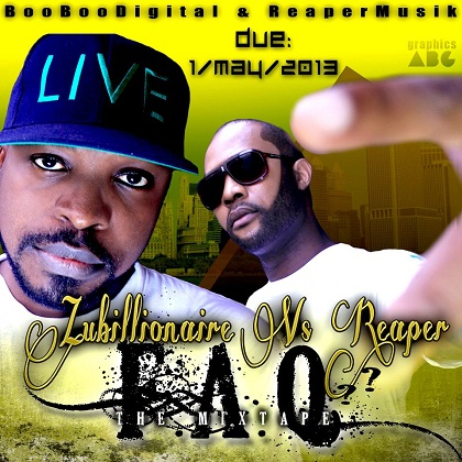 Zubillionaire Vs Reaper F.A.Q mixtape