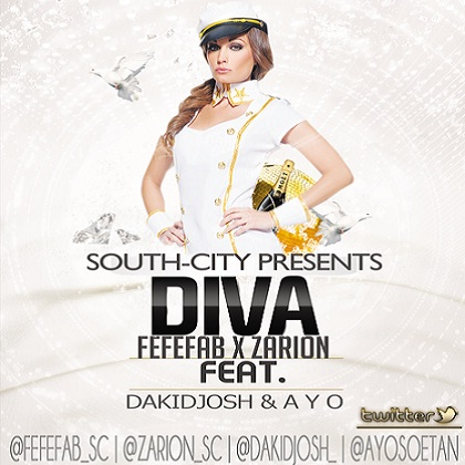 South-City Diva Fefefab zarion